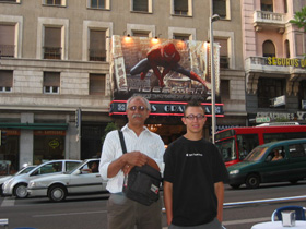Spiderman in France 2004